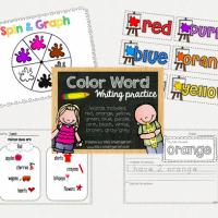 FREE Color Words Unit Printable Download