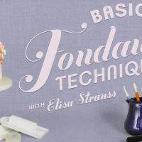 FREE Basic Fondant Class from Bluprint