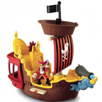 Jake and The Never Land Pirates Hook's Pirate Ship For $18.74 Shipped