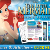FREE Disney The Little Mermaid Themed Activity Sheets #FindYourVoice