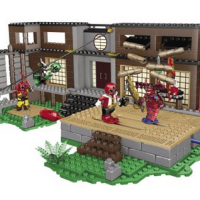 Mega Bloks Power Rangers Samurai HQ Battle For $27.59 Shipped