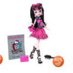 Monster High Dolls For 40% Off