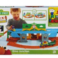 Playskool Sesame Street Elmo Junction Train Set For $29.99 Shipped