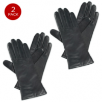Womens ISOTONER Leather Gloves | 2 Pack For $25.99 Shipped