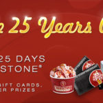 25 Days of Cold Stone Giveaway
