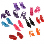 Barbie Shoes   10 Pairs For $2.10 Shipped