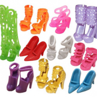 Barbie Shoes | Great Stocking Stuffer