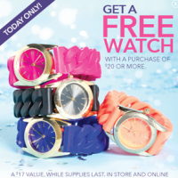Claires | FREE Watch With Purchase Today Only