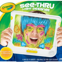Crayola See Thru Light Designer For $15.99 Shipped