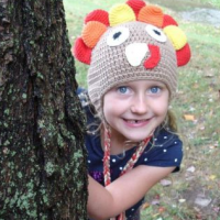 Crochet Turkey Hat For $14