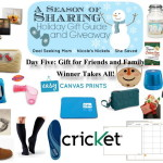 A Season of Sharing Giveaway Day 5: Gifts for Friends & Family