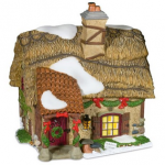 Department 56 Dickens Village Hollyberry Cottage For $23.99 Shipped