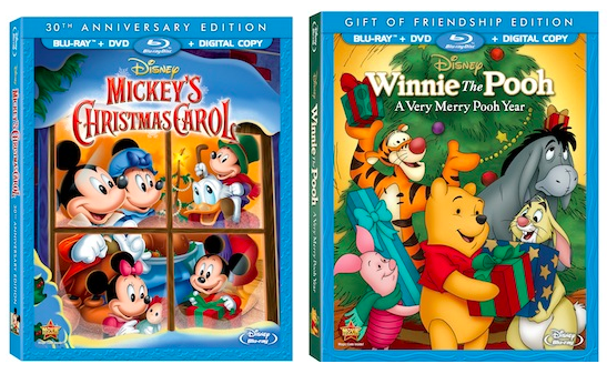 disney christmas two great disney holiday dvds mickeys christmas carol - Mickeys Christmas Carol Dvd