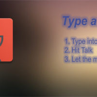 FREE Android App   Type And Talk