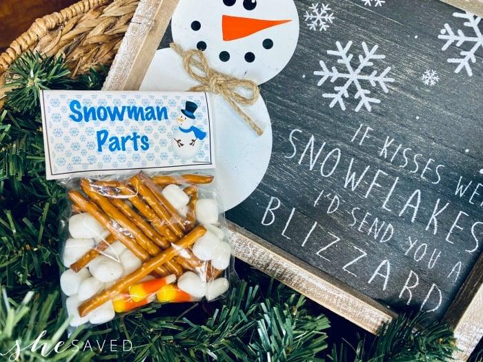 FREE Snowman Printable