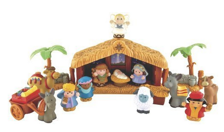 Fisher Price Little People Christmas Story For $34.49 Shipped ...