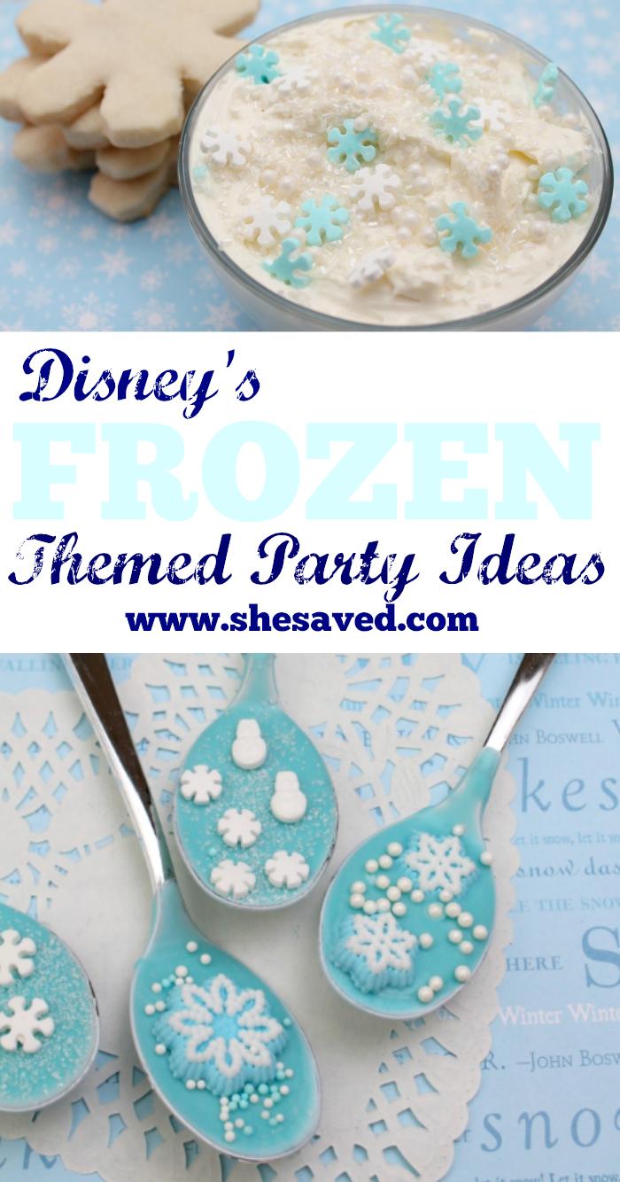 Frozen 2 Themed Party Ideas