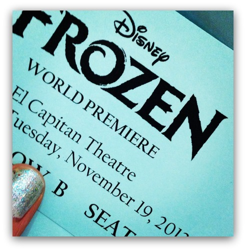 Frozen Ticket