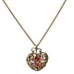 Heart Bead Necklace For $2.48 + FREE Shipping