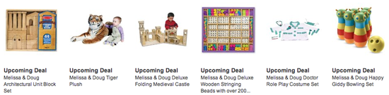 Holiday Toy List Daily Deals