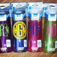 Monogrammed CamelBak Water Bottle For $19