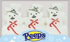 PEEPS® Snowmen 3 ct