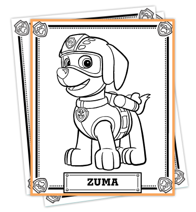 FREE Paw Patrol Printable Activities