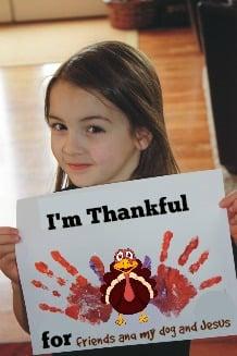 Thankful Turkey Print