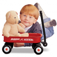 Toy Radio Flyer Little Red Wagon For $13.49 Shipped