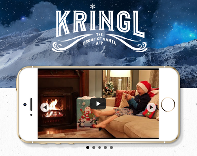 FREE Kringl App | FREE Video Of Santa In Your Home