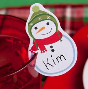 FREE Printable Christmas Placecards