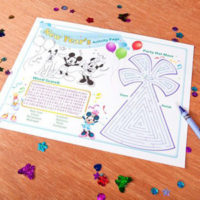 FREE Printable Disney New Years Activity Page