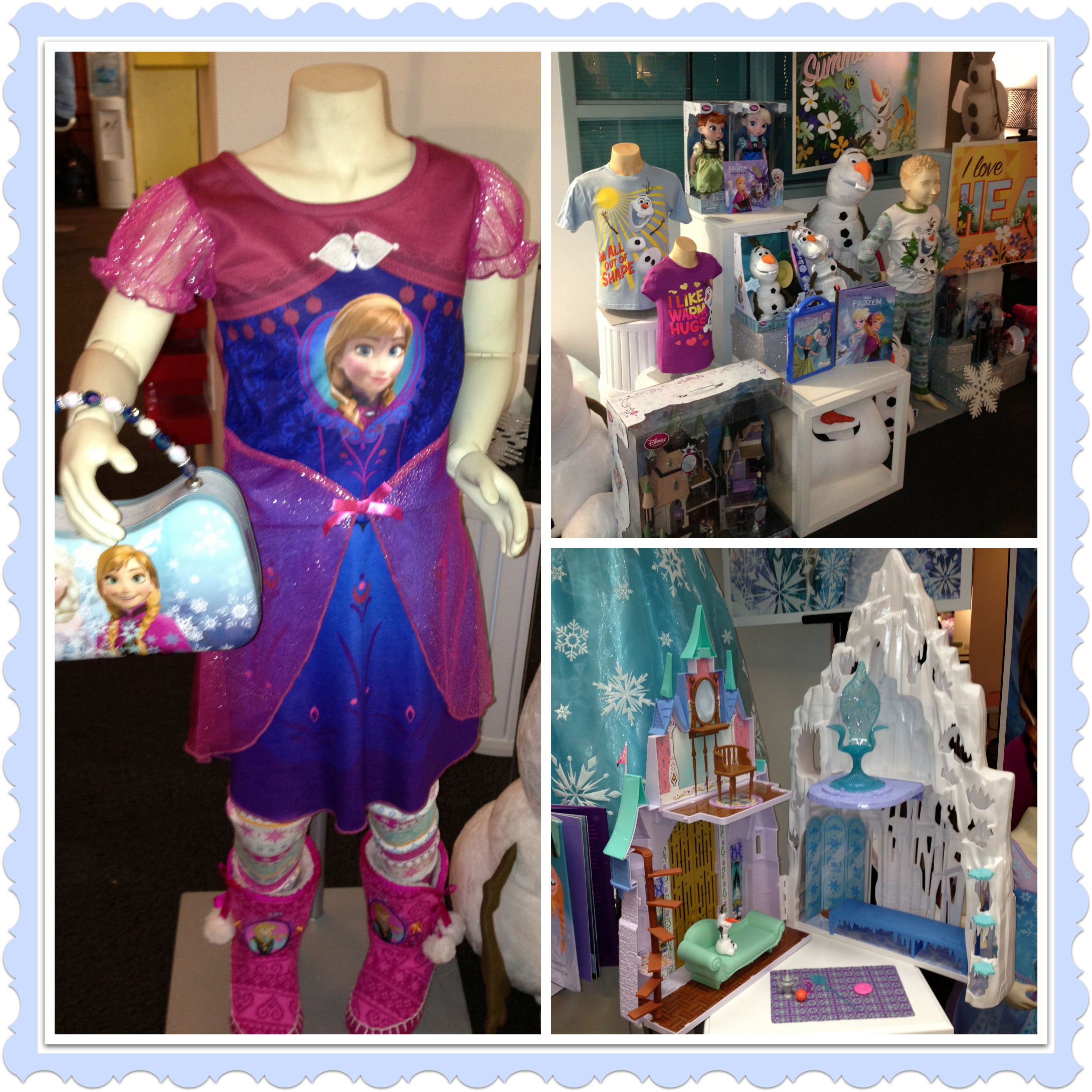 What Santa Might Bring: Disney Frozen Merchandise #DisneyFrozenEvent