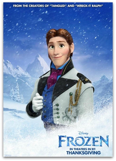 Disney Behind the Scenes: Meet Santino Fontana AKA Prince Hans #DisneyFrozenEvent