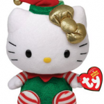 Hello Kitty Christmas Beanie Babies For $5.66 + FREE Shipping