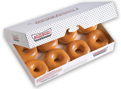 Krispy Kreme Coupon | Buy One Dozen Original Glazed Doughnuts Get One FREE