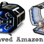 LEGO Star Wars ZipBin TIE Fighter Carry Case For $8.99