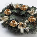Pine Cone Advent Wreath For $23.85 Shipped