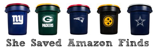 rubbermaid nfl trash cans