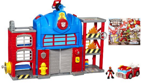 Transformers Playskool Heroes Fire Station