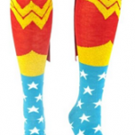 Wonder Woman Cape Knee Socks For $9.74 Shipped