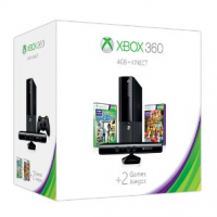 Xbox 360 4GB Kinect Holiday Bundle For $249 Shipped + Get A $50 Promotional Credit