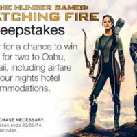 Catching Fire Sweepstakes