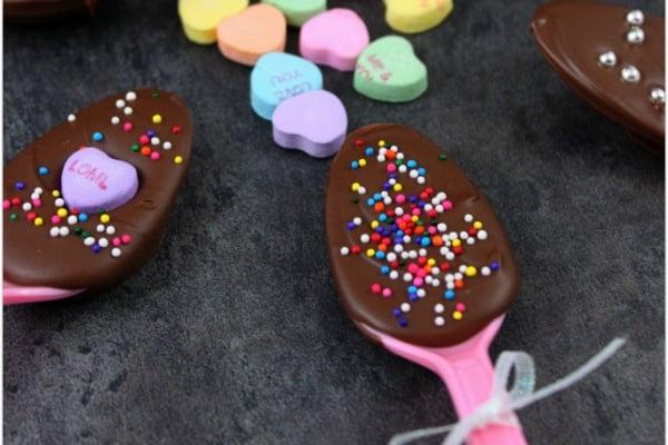 Easy Chocolate Spoons Recipe