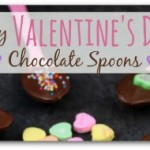 Easy Valentine Chocolate Spoons
