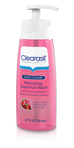 Free Clearasil Daily Clear Refreshing Superfruit Cleanser