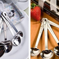 Heart Shaped Measuring Spoons For $5.99
