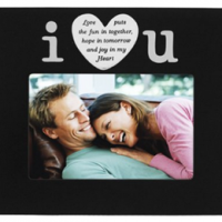 I Love U Frame For $10.15 Shipped
