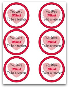 Mint to be a teacher Tags