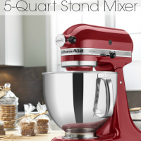 Enter to Win a 5 Quart KitchenAid Artisan Stand Mixer!